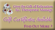 Gift Certificates Available - Find Out More
